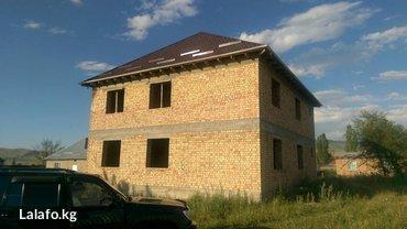 Продается недостроенный дом 230 м2 в с. Кой Таш, участок 10 соток. в Бишкек