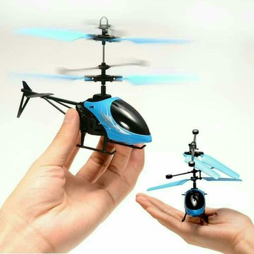 Özü Uçan Helikopter Tezedi upakovkada her tanima sensoru vasitesile