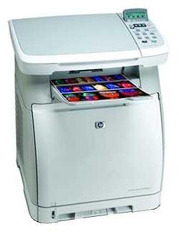 сканер hp в Кыргызстан: Продаю цветной лазерный принтер 3 в 1 МФУ HP Color LaserJet