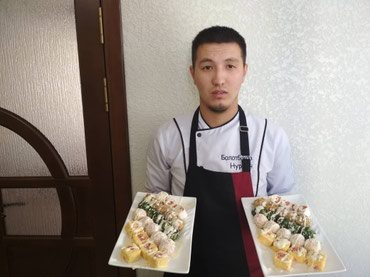 Повар на дому, услуги повара, повара на в Бишкек
