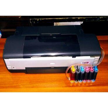 6 цветный а3+ a3 a4 принтер epson 1410 состояние идеальноедюзы чистые
