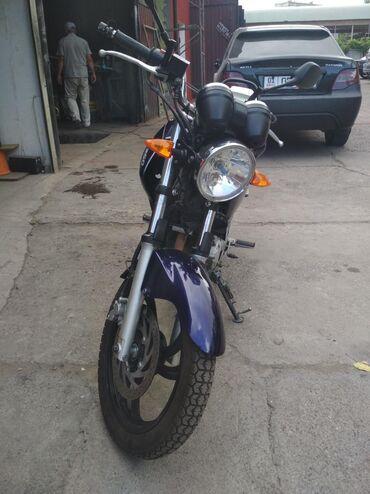 мопед yamaha в Кыргызстан: Продаю городской мотоцикл Yamaha YBR250, 2010 года. В отличном