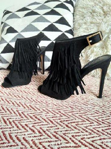 Sako crne boje - Srbija: Ženska obuća 38