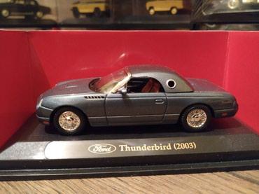 промо модель в Кыргызстан: МАСШТАБНАЯ МОДЕЛЬ автомобиля  Ford Thunderbird 1:43