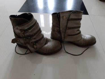 Ženska obuća | Backa Palanka: Cipele cizme novo maslinasto zelene brojevi 37 i 38 Donna Madoni by