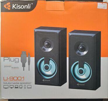 usb-iphone-5 в Кыргызстан: Колонки kisonli воспроизводятся на ноутбуке,ipod, iphone, mp3, mp4.Usb
