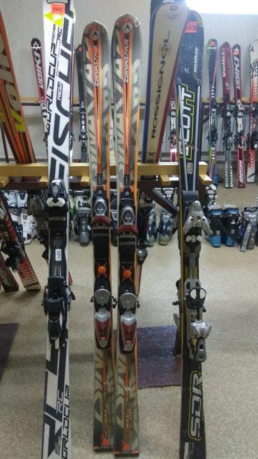 бу лыжи в Кыргызстан: Продаю 3 лыжи, бу, состояние хорошее. Fisher, Dynastar,Scott.180см