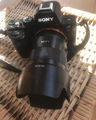 Fotoaparatlar - Qusar: Sony A7R +24mm f1.8 obyektiv. Ela veziyyetde hec bir problemi yoxdu