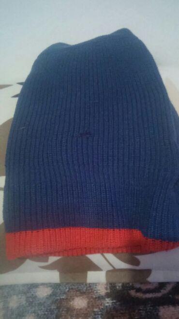 Kape - Zitorađa: Kapa sa 2 lica crveno i plavo