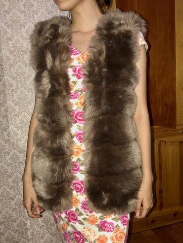 Женская одежда - Нижний Норус: Продаю жилетку( искусственный мех)