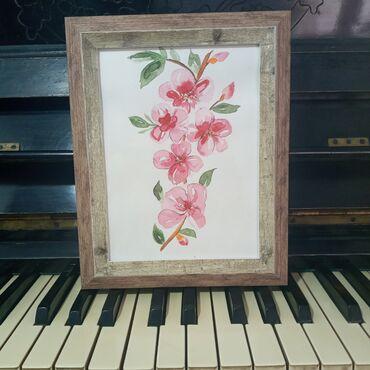 """Картина """"Сакура """"Картина подарок для души!Самый креативный и"""