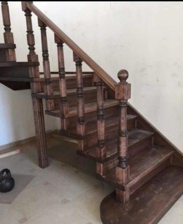 Изготавливаем деревянные лестницы, в Бишкек