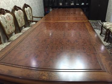 Продаю стол с стульями размер 4.5 в Кок-Ой