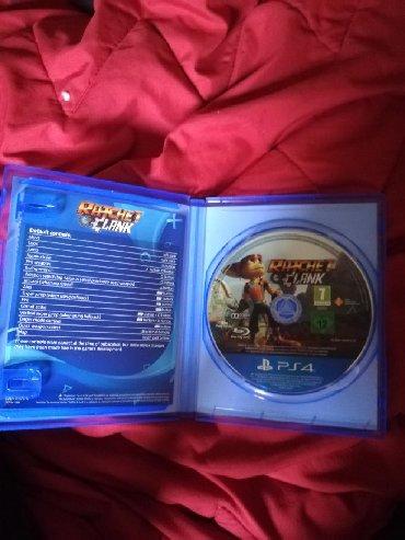 PS4 (Sony Playstation 4) | Srbija: RATCHET CLANK PS4 KAO NOV BEZ OGREBOTINE