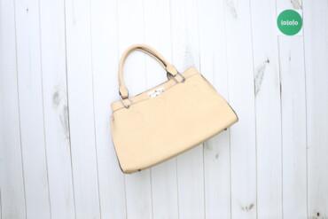 Жіноча шкіряна сумка Alessia    Висота: 26 см Довжина: 46 см Довжина р