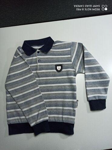 Детские топы и рубашки в Кыргызстан: Кофта на мальчика в отличном состоянии. 3-5 лет. Производство Турция