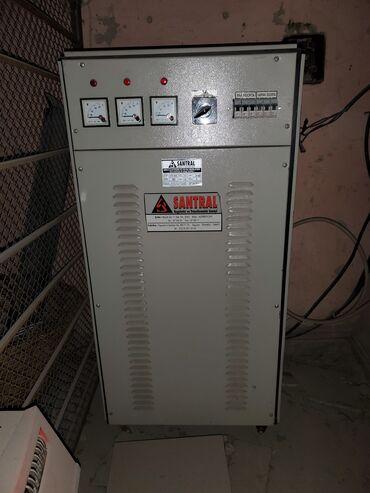 Stabilizator Santral 30kw 275-450 3 faza. Ideal vəziyyətdə