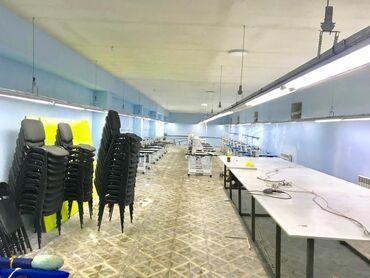 Заводы и фабрики - Кыргызстан: Швейный Цех сатылат  Баары даяр кирип эле иштегенге болот   Аренда Пом