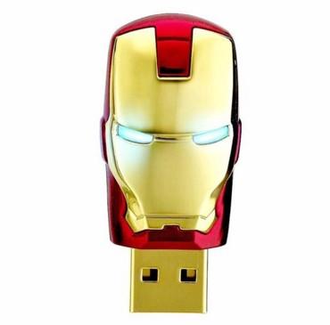Маравел флешка Мстители Железный человек flash card 4gb. 8gb. 16gb. в Бишкек