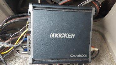 акустические системы qitech колонка в виде собак в Кыргызстан: Продаю сабвуфер KICKER+ усилитеь моноблок и провода. Состояние идеальн