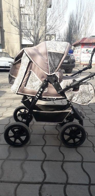 Продаю коляску ГНОМ 3 в 1+ переноска( не в Бишкек