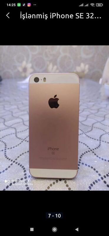 iphone qablari - Azərbaycan: İşlənmiş iPhone 5s 32 GB Gümüşü