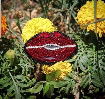 Yaxa sancaqları - Azərbaycan: Yaxa ucun brosh (el ishi)