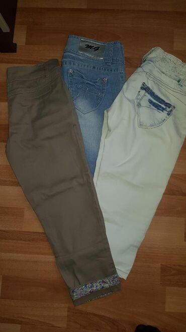3 za 1000din. 3/4 pantalone broj 26. Bez ostecenja