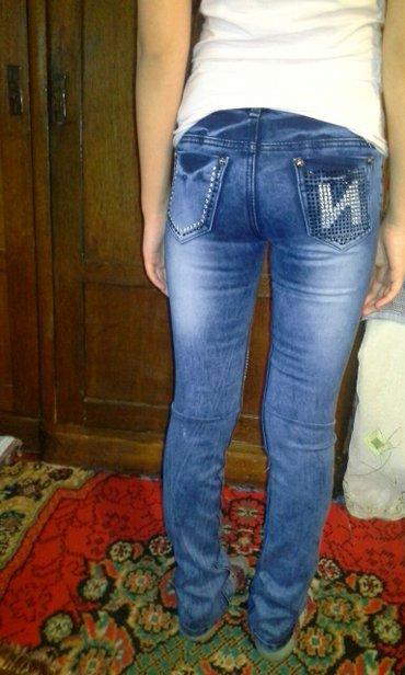 Новые джинсы на девочку 9- 10 лет размер 27 рост 160см в Бишкек
