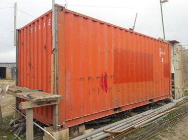 Bakı şəhərində 6m, konteyner istifadəyə tam yararlı
