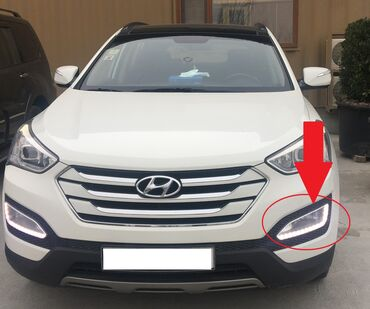 "santa fe - Azərbaycan: ""Hyundai Santa Fe"" duman diodlu işıqlarıOrginal Hyundai santafe 5 diod"