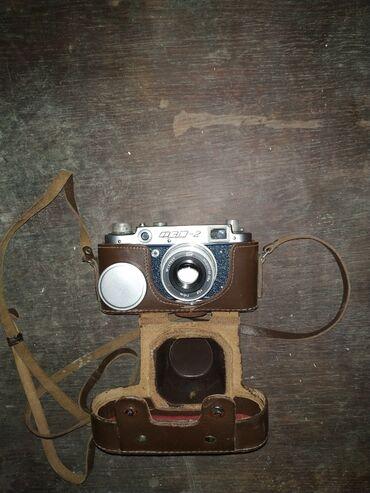 рабочий фотоаппарат в Кыргызстан: Фотоаппарат Фэд 2, в отличном состоянии, под масло, полностью рабочий