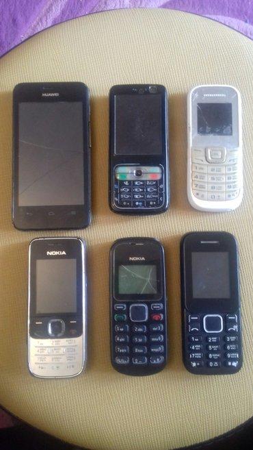 Bakı şəhərində TELEFONLAR-6ədəd hamısı biryerdə satılır