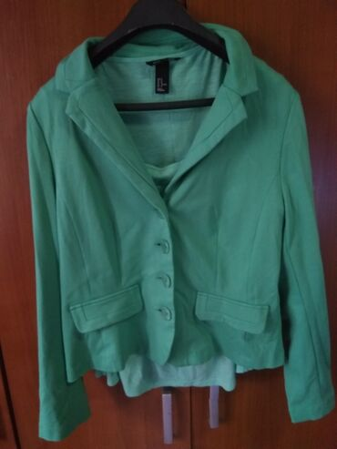 Bershka bluza - Srbija: Sako I bluzica H&M, prelepe boje, bez ostecenja, velicina M
