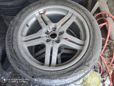 диски bmw в Кыргызстан: Диски с резиной р 20 разболтовка 5.120. 9.5 дюй могут подойти на БМВ
