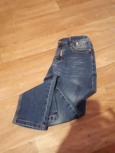 Джинсы штаны для мальчика на 7-9 лет, почти новый в Бишкек