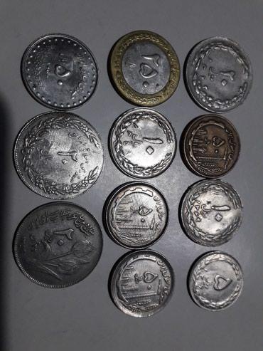 Монеты Ирана в Токмак