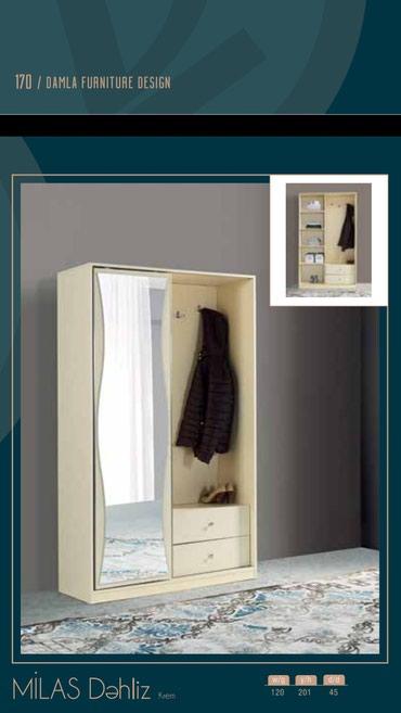 шкаф прованс в Азербайджан: Шкаф для прихожей. Местное производство. Доставка бесплатно