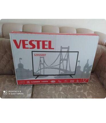 Vestel TV 82 ekran upakofkadadir. İstifadə olunmayıb . Smart deyil. Qi