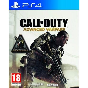 Bakı şəhərində Call of duty advanced warfare