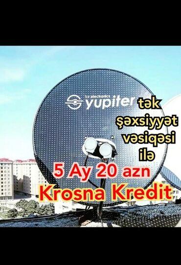 Krosna krosnu sputnik antena kros peyk antenaların kreditlə və nəğd