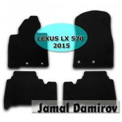 """аккумулятор лексус 570 в Азербайджан: NOVLINE LEXUS LX 570 2015 ucun kovrolit ayaqaltilar""""AILERON"""""""