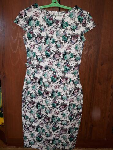 Платье на рост до 170 смЧуть выше коленРазмер 42-44Возможен обменПо