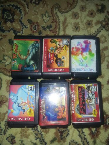 Sega kasetleri biri 30 manat