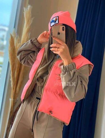 Ženske jakne - Srbija: Zara prsluk sa dva lica. S, m, l 2700din  Im