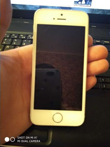İşlənmiş iPhone 5s 16 GB Boz (Space Gray)