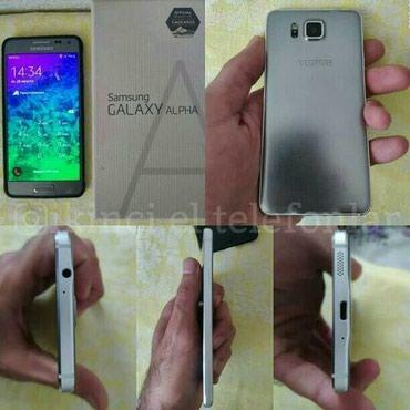 Bakı şəhərində Samsung galxy alpha 32 yaddas barmaq izi isleyir adaptrdan basqa her