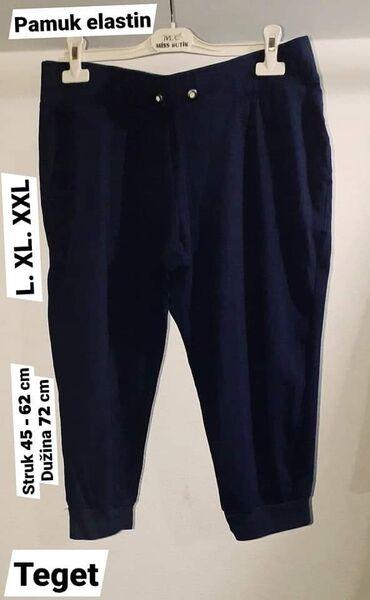 Bermude L. XL.može XXL  pamuk elastin  Teget Za više stvari popust