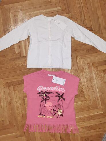 Dzemper - Srbija: NOVO!!! Dzemper i majica za dete 6 god.Kupljeno u Engleskoj ali malo