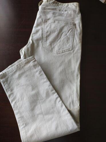 H-m-bajkerske-deciji-model-ali-broju - Srbija: Muske pantalone od kepera, c&a, 34 vel ali uzi model, poluobim